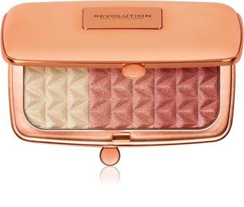 Makeup Revolution Renaissance Illuminate paleta rozjasňovačů