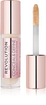 Makeup Revolution Conceal & Define corector lichid