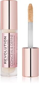Makeup Revolution Conceal & Define folyékony korrektor