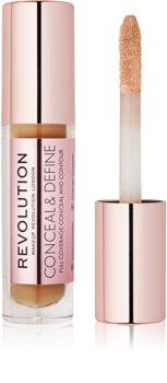 Makeup Revolution Conceal & Define Flüssig-Korrektor