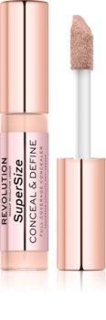 Makeup Revolution Conceal & Define SuperSize tekutý korektor