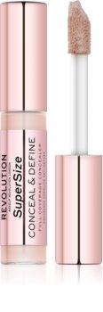 Makeup Revolution Conceal & Define SuperSize corector lichid