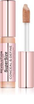 Makeup Revolution Conceal & Define SuperSize tekoči korektor