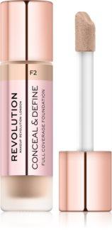 Makeup Revolution Conceal & Define fond de teint couvrant