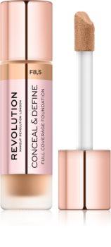 Makeup Revolution Conceal & Define фон дьо тен