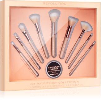 Makeup Revolution Ultimate Brush Collection Brush Set