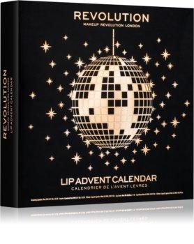Makeup Revolution Lip Advent Calendar adventný kalendár