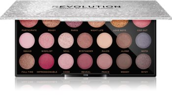 Makeup Revolution Jewel Collection paletka očních stínů