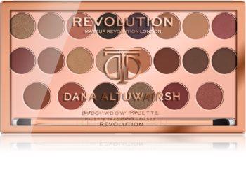 Makeup Revolution Dana Altuwairsh paletka očních stínů