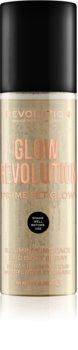 Makeup Revolution Glow Revolution spray iluminator pentru față și corp