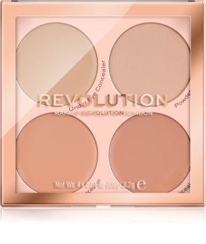 Makeup Revolution Matte Base Palette mit Korrekturstiften
