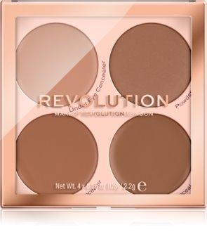 Makeup Revolution Matte Base paleta corectoare