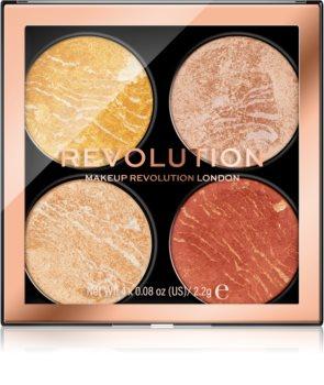 Makeup Revolution Cheek Kit paletka na tvář