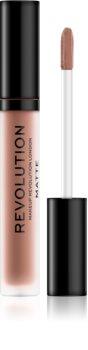 Makeup Revolution Matte matná tekutá rtěnka