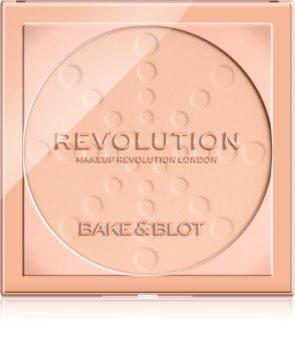 Makeup Revolution Bake & Blot fiksacijski puder