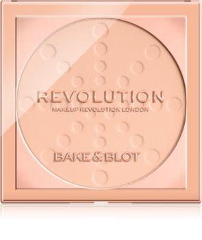 Makeup Revolution Bake & Blot puder za učvršćivanje