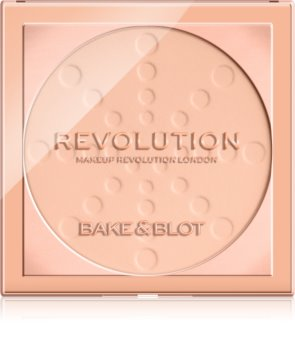 Makeup Revolution Bake & Blot фиксираща пудра