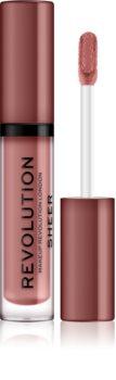 Makeup Revolution Sheer Brillant brillant à lèvres