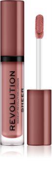Makeup Revolution Sheer Brillant блясък за устни