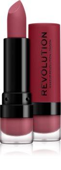 Makeup Revolution Matte matný rúž