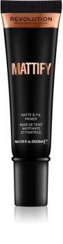 Makeup Revolution Mattify основа під макіяж з матовим ефектом