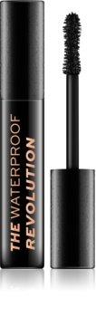 Makeup Revolution The Waterproof Mascara Revolution Wasserbeständige Wimperntusche für mehr Volumen