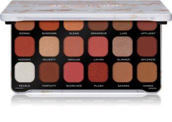 Makeup Revolution Forever Flawless paleta cieni do powiek