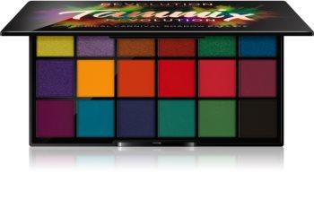 Makeup Revolution Tammi Tropical Carnival paletka pudrových očních stínů