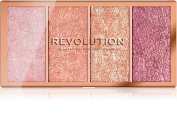 Makeup Revolution Vintage Lace Blush Palette