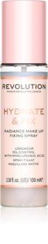 Makeup Revolution Hydrate & Fix pršilo za fiksiranje make-upa