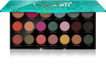 Makeup Revolution Carmi paleta očních stínů
