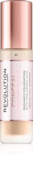 Makeup Revolution Conceal & Hydrate könnyű hidratáló make-up