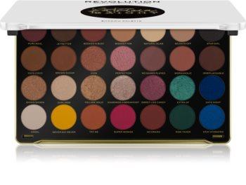 Makeup Revolution X Patricia Bright палитра от сенки за очи