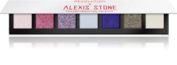 Makeup Revolution X Alexis Stone paletka očních stínů pro třpytivý lesk