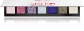 Makeup Revolution X Alexis Stone szemhéjfesték paletta a csillogó fényért