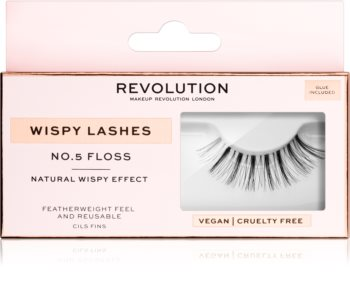 Makeup Revolution False Lashes Wispy Klebewimpern