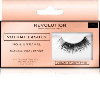 Makeup Revolution False Lashes Volume ragasztható műszempilla
