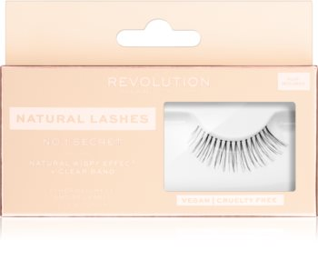 Makeup Revolution False Lashes Natural Stick-On Eyelashes