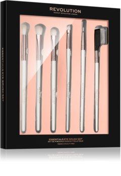 Makeup Revolution Essentials eye brush set kit de pinceaux (yeux) pour femme