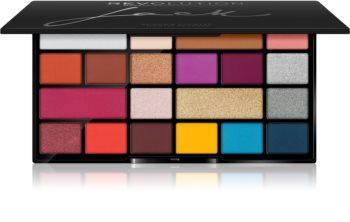 Makeup Revolution X Jack paletă cu farduri de ochi