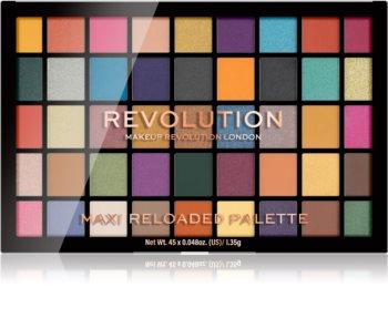 Makeup Revolution Maxi Reloaded Palette palata de culori