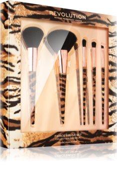 Makeup Revolution Fierce Brush Set Pinselset für Damen