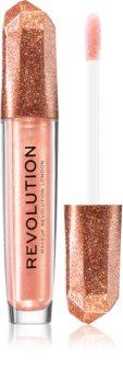 Makeup Revolution Precious Stone Rose Quartz bleščeči sijaj za ustnice