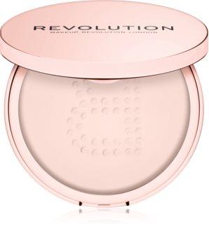 Makeup Revolution Conceal & Fix transparentní sypký pudr voděodolný
