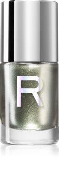 Makeup Revolution Duo Chrome lak na nehty s holografickým efektem
