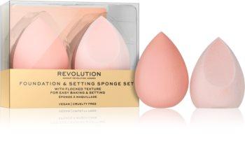 Makeup Revolution Conceal & Fix Makeup Sponge, 2 pcs