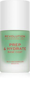Makeup Revolution Prep & Hydrate изглаждаща основа-лак за нокти