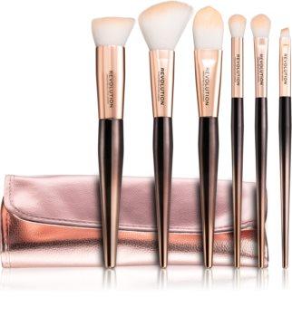 Makeup Revolution Make Up Artist Make-up Brush Set with Pouch