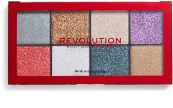 Makeup Revolution Halloween Glitter Palette Palette mit gepresstem Glitter
