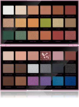 Makeup Revolution X Petra XOXO paletă cu farduri de ochi